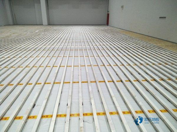 陕西舞台实木地板施工工艺