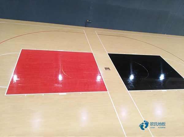 悬浮体育场地木地板3