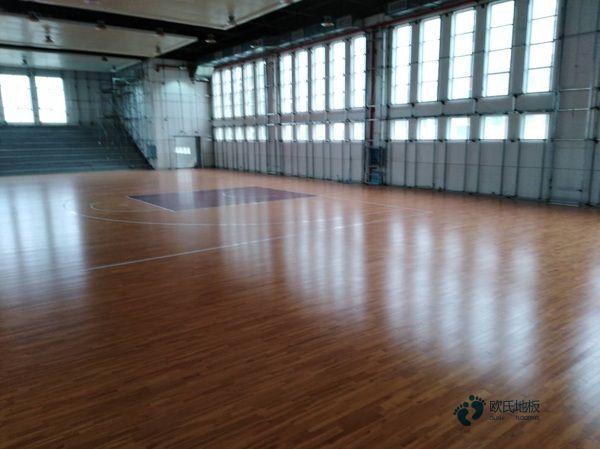 实木体育地板安装公司