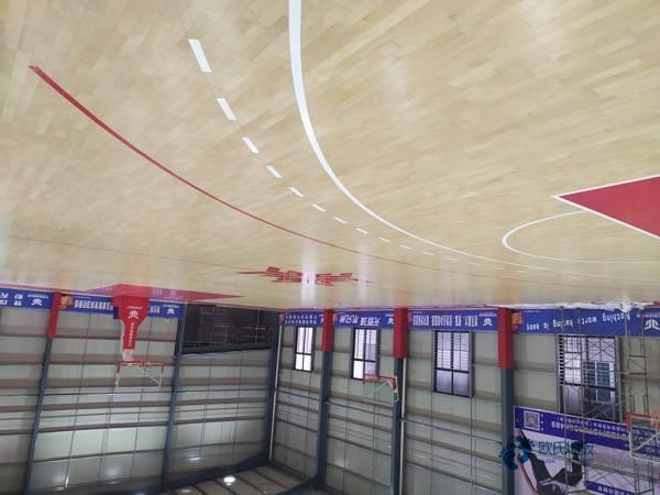 实木篮球地板安装公司