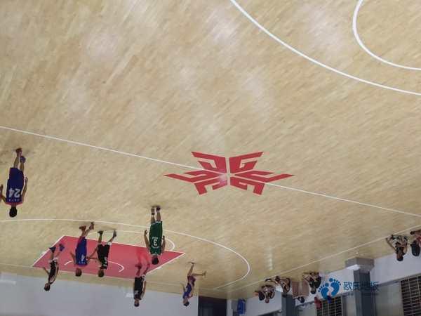 实木篮球场地地板安装公司