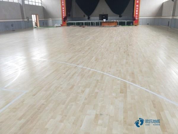 实木篮球运动木地板安装公司
