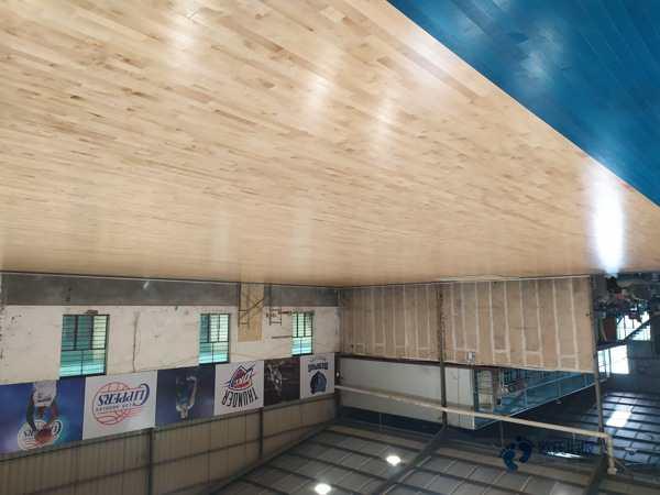 实木运动场馆木地板安装公司