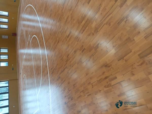 专用运动木地板价格表