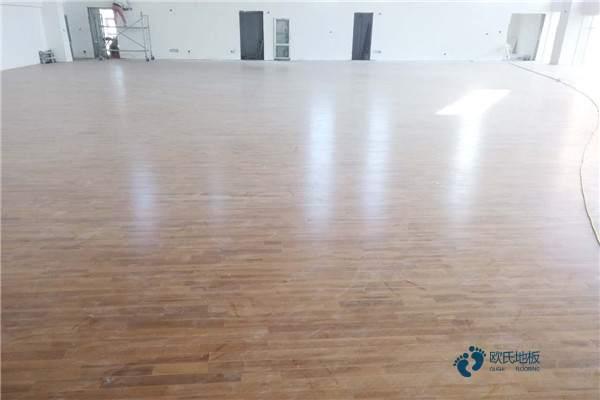 欧氏22mm厚运动篮球木地板1