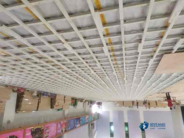 欧氏专业壁球馆木地板1