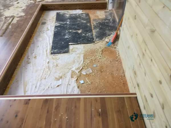 欧氏专业壁球馆木地板3