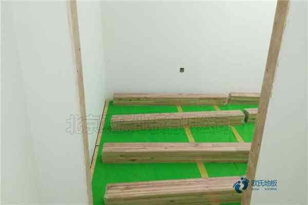 常见的运动木地板施工技术