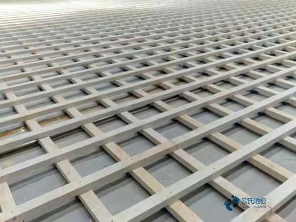 硬木企口运动木地板每平米价格
