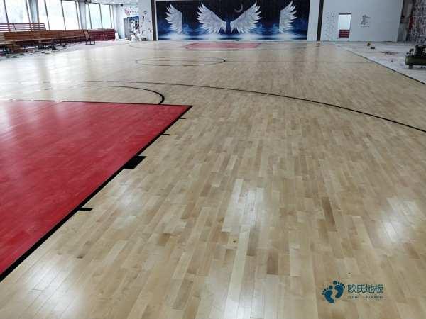 枫桦木木地板篮球馆多少钱一平米?