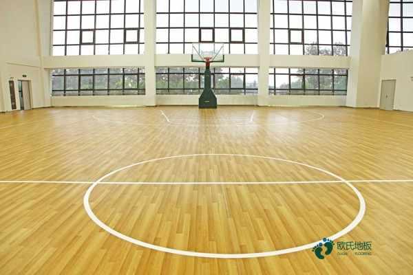 大庆悬浮地板篮球场