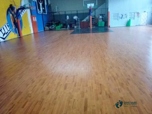 五角枫木地板篮球场报价