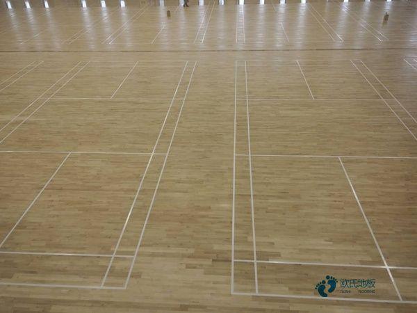 太原篮球地板安装