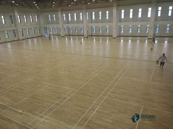 专业舞蹈室木地板大全