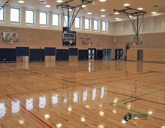 寻求篮球场地木地板什么牌子好
