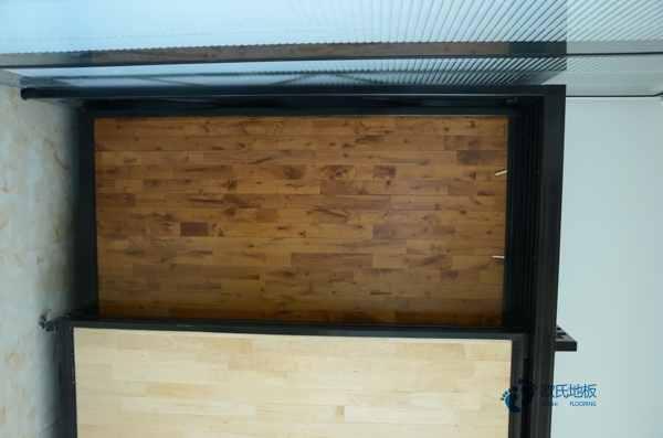 实木运动地板安装工艺22厚