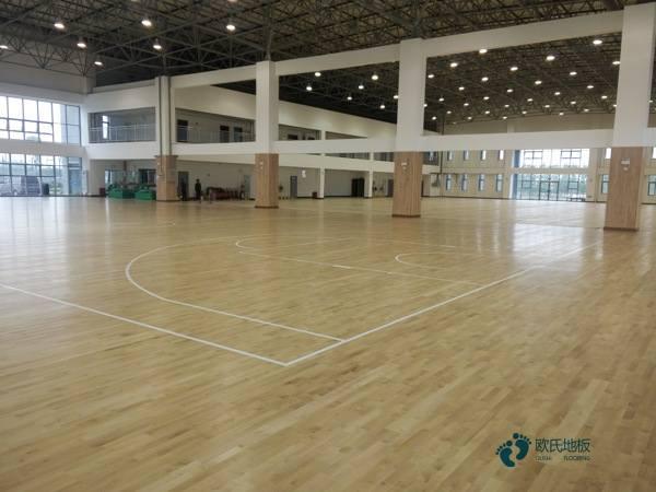 安徽枫桦木篮球场地板品牌电话
