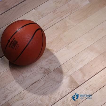 篮球运动木地板安装工艺训练场馆