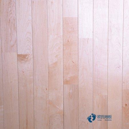 硬木企口篮球场木地板厂商