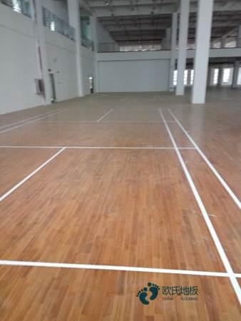 常用的篮球木地板价格