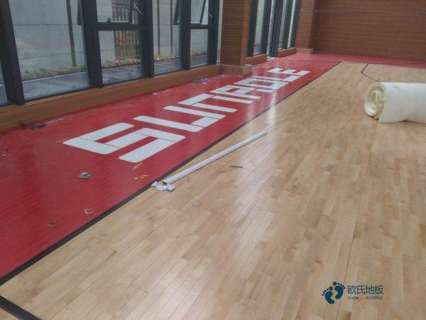 常用的体育地板施工技术