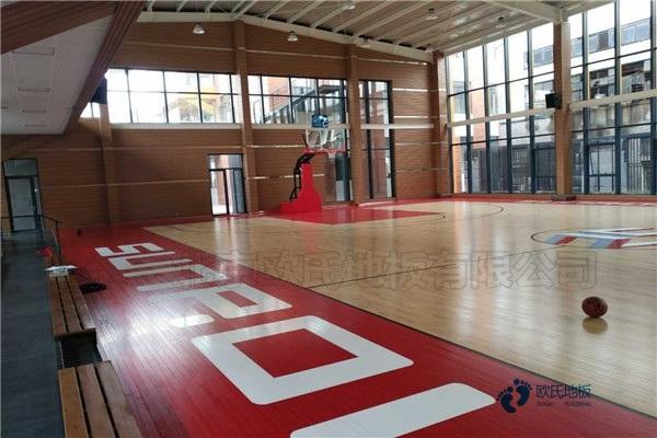 那有篮球运动木地板节点图