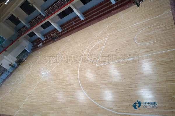 篮球馆木地板价钱1