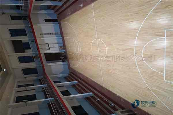 篮球馆木地板价钱2