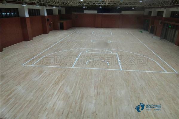 篮球馆木地板厂家报价1