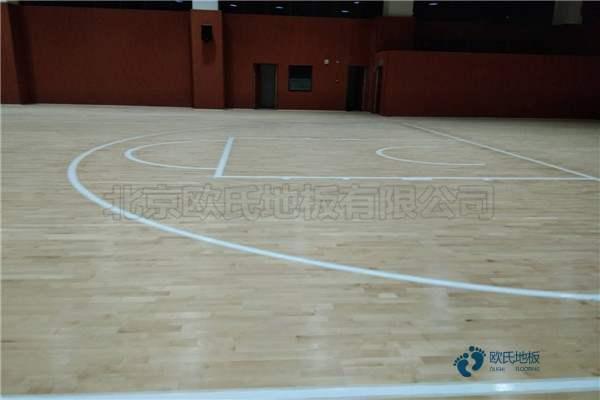 篮球馆木地板厂家报价3