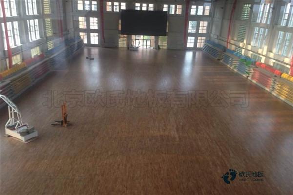 行业运动木地板2