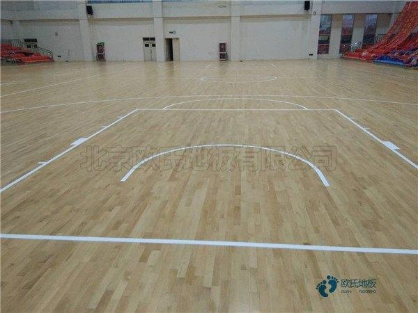 常用篮球地板厂家报价