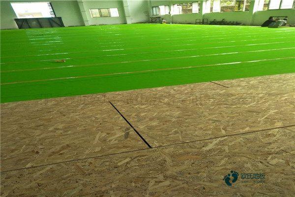 专业篮球实木运动地板直销