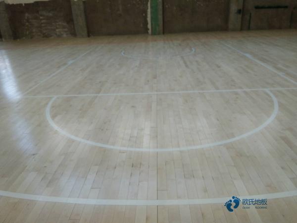 那里有篮球运动木地板减震技术