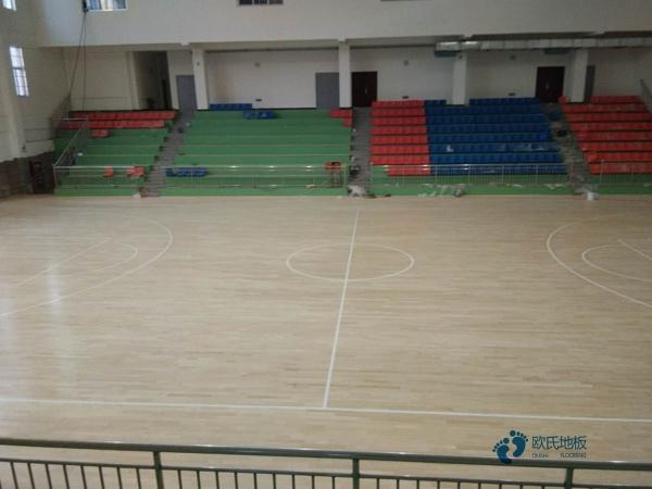那里有篮球运动木地板厚度偏差