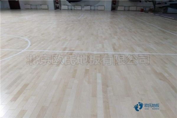 专用篮球馆木地板厂家直销