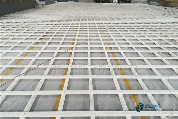 兰州体育场地板打磨翻新