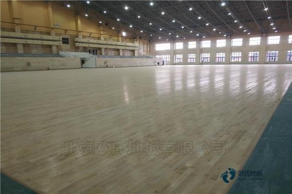普通体育运动地板施工单位