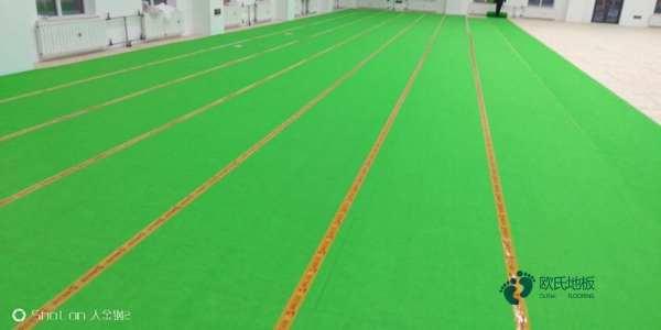 普通体育馆木地板施工流程
