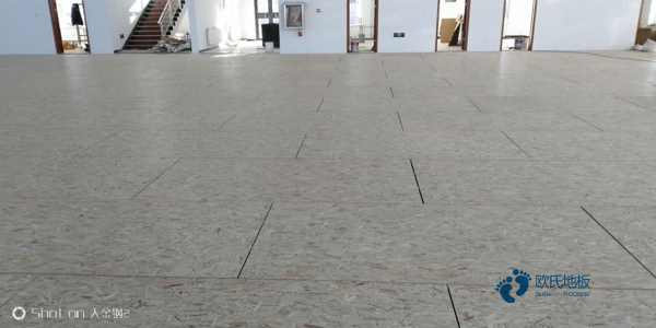 普通体育馆木地板施工队