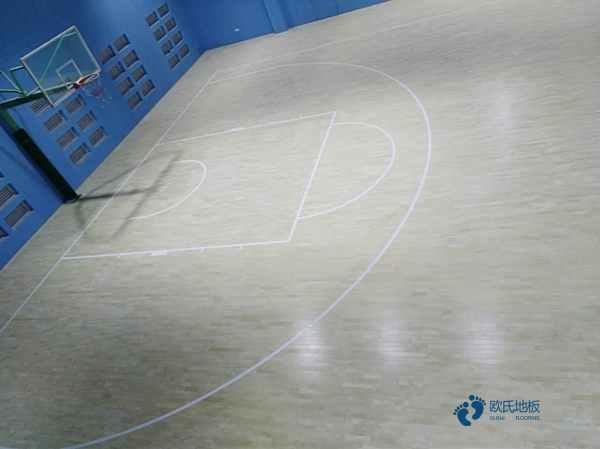 普通篮球地板施工队