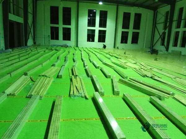 指接板舞台运动木地板一般多少钱?