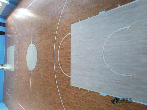 普通运动场木地板施工工艺