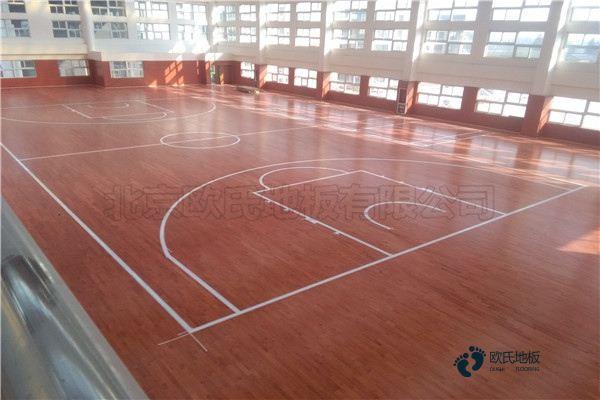 海口专用篮球地板报价