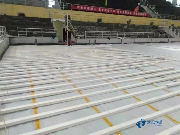 普通运动场馆木地板施工单位