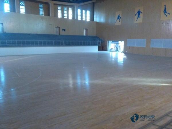 普通运动型木地板施工