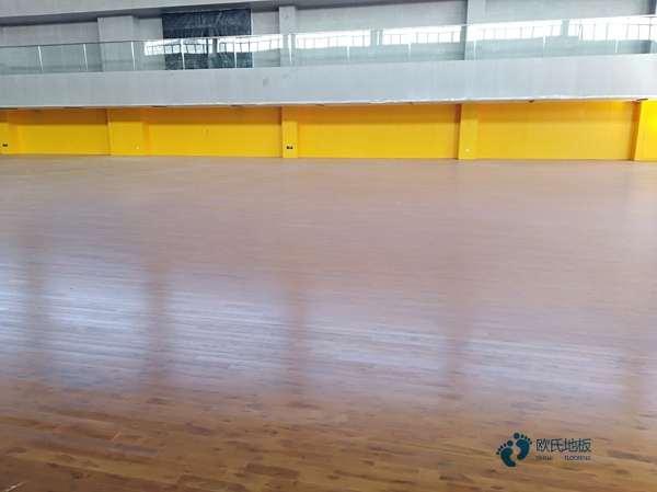 普通运动木地板施工方案