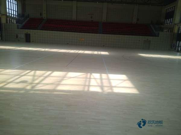 普通运动篮球木地板施工单位