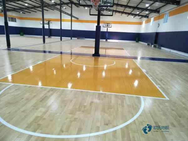 甘肃柞木篮球木地板一般多少钱
