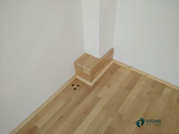 普通运动馆木地板施工工艺